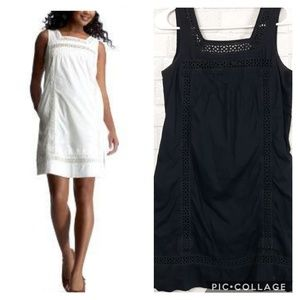 Gap Embroidered Crocheted Summer Dress